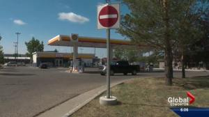 Some Shell gas stations in Edmonton run dry