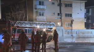 Residential complex in Ahuntsic-Cartierville catches fire