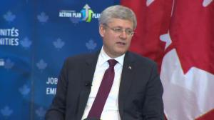 Harper: 2013-14 deficit projected at $5.2 billion, down from $16.6B