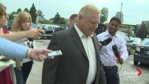 Doug Ford on Bill Blair's defamation suit: 'Do I look worried?'
