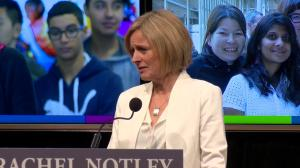 State of Alberta: ' Alberta is in mourning' Premier Notley speaks about Jim Prentice