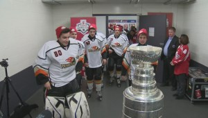 RAW VIDEO: The Stanley Cup comes to Pierrefonds