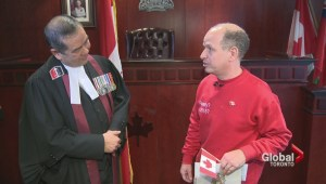 Toronto man publicly disavows 'royalty part' of Oath of Allegiance to the Queen