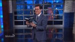 Stephen Colbert tries to guess what Bill O'Reilly will do next – by reading his book