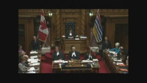 BC Legislature holds moment of silence for Ottawa shooting victims