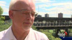 Edmontonians touched by tragedy express support for High Level Bridge barriers