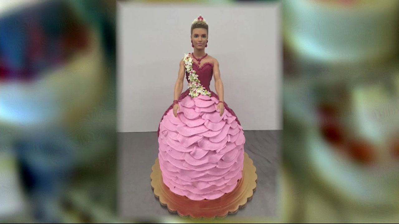 California bakery blasted for making transgender Ken doll cake