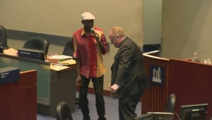Rob Ford shows off his dance moves during final council meeting