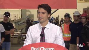 Political will is 'number one' ingredient to help refugees: Trudeau