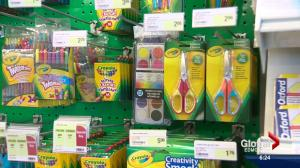 Breaking down the cost of back to school supply shopping