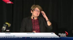 Winnipeg Votes: Judy Wasylycia-Leis concession speech