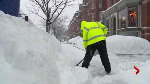Boston still snowed in after latest storm