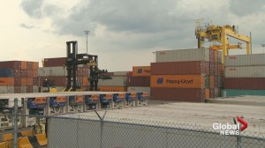 4 men found in container in Port of Montreal