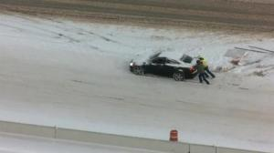 Winter storm bogs down travel in much of the US