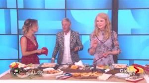 Nicole Kidman refuses to eat TV chef's creation on Ellen
