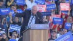 Sanders attacks Trump, Clinton during campaign event in San Diego