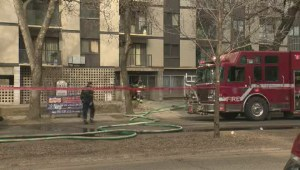 3 taken to hospital after Old Strathcona apartment fire