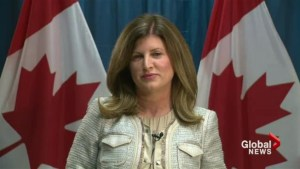 Canada working to coordinate more medical boots on the ground to fight Ebola: Ambrose