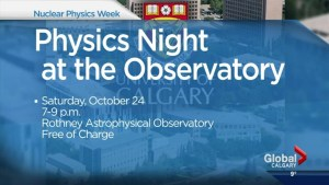 How you can take part in Nuclear Science Week in Calgary