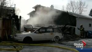 Man escapes as fire engulfs southwest home
