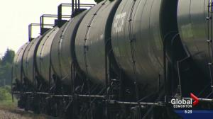 NDP MP Linda Duncan talks about rail safety concerns