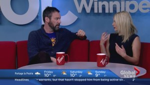 Jon Dore back in Winnipeg on Global News Morning