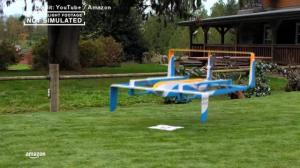 Amazon releases footage of Prime Air delivery drone in flight