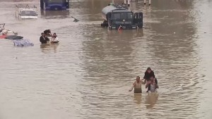 India and Pakistan ravaged by flooding
