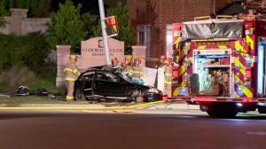 Deadly car crash in Brampton