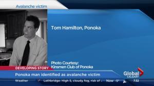 Ponoka man identified as avalanche victim