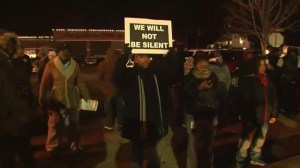 RAW: Ferguson protests for the second night in a row