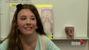 Hearing aid technology helps Saskatoon girl