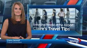 Are you an annoying traveler a the airport?