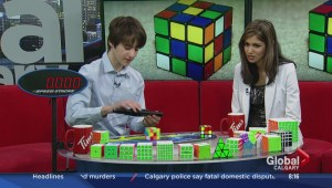 Calgary's first official Rubik's Cube Speedcubing competition