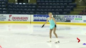 Petal pickers audition for Skate Canada event