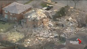 Investigators finally able to sift through rubble of deadly house explosion