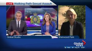 Sexual assault on Sherwood Park walking trail
