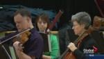 Saskatoon symphony serenades students