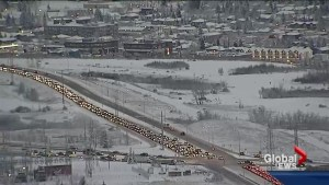 Snow catches Calgary drivers off-guard