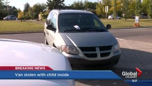 Child inside stolen vehicle in Huntington Hills