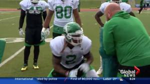 Roughriders running back Curtis Steele ready to propel rushing attack