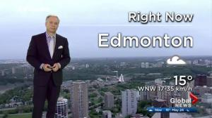 Edmonton early morning weather forecast: Wednesday, May 24, 2017