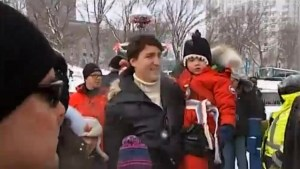 Trudeau attends Carnaval de Quebec with family