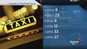 Taxi assaults in Montreal