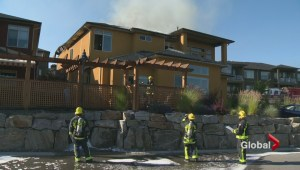 Discarded rags may have started West Kelowna house fire