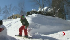 Lack of snow out west brings snowboarders to Fredericton