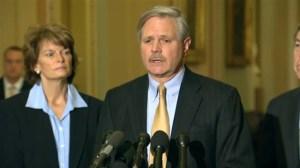 Republican senators react to Keystone XL bill failing to pass vote