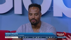 Actor Shawn Wayans on Global News Morning