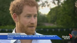Prince Harry reveals his big regret