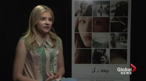 "Actress Chloe Grace Moretz on her new movie ""If I Stay"""